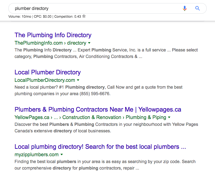 Plumber directory - Google Search